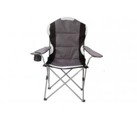 Tresko Krzesło turystyczne, wędkarskie, kempingowe CPS-005 Black