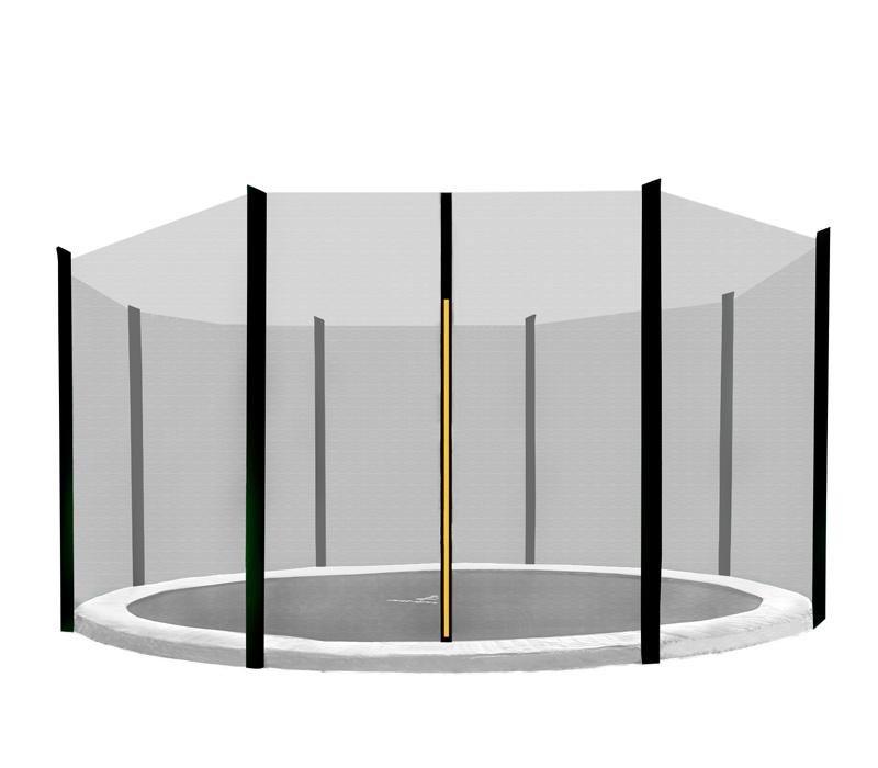 AGA 335 cm (11 ft) 8 rudas trambulin védőháló