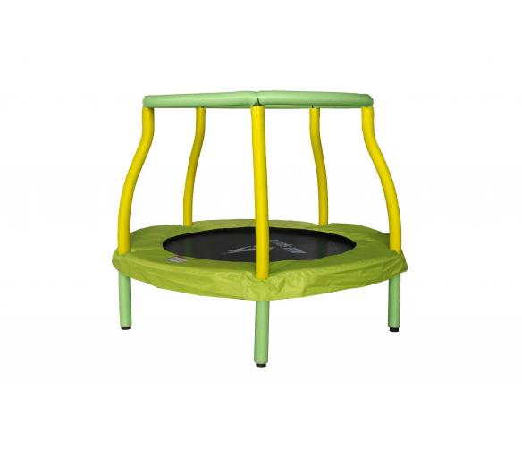 Aga Dětská trampolína 116 cm Light Green/Yellow