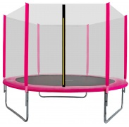Aga SPORT TOP Trambulin 250 cm Pink + védőháló