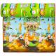 Aga4Kids Dětská pěnová hrací podložka 150x180 cm MR114