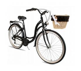 """Goetze Alice női kerékpár 28"""" fekete"""