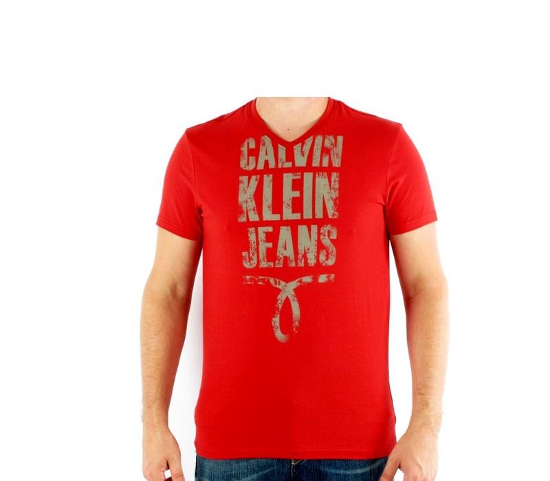 CALVIN KLEIN Tričko cmp25p 547 Rouge