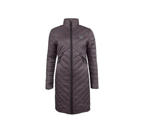 Versace 19.69 Dámský prošívaný kabát C68 Grey