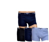 Emporio Armani Boxerky 3-PACK Blue Navy Black