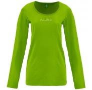 Benetton női Hosszú ujjú póló felirat kis kövekből zöld