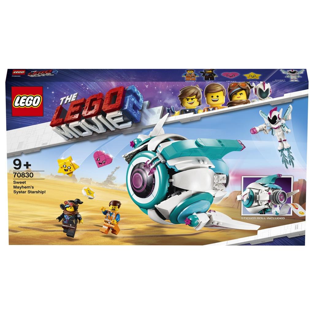 Lego Movie Kosmická loď Systargenerálky Mely!
