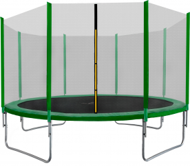Aga SPORT TOP Trambulin 400 cm Dark Green + védőháló