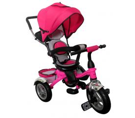 R-Sport Multifunkciós tricikli 3v1 T3 Pink