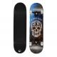 Aurora Skateboard Flip 360 Skull