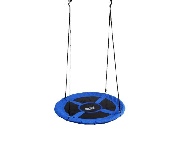 Aga Závěsný houpací kruh 100 cm Modrý