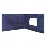 Linder Exclusiv oldalfal a pavilonhoz ALU 3x3 m PO2410PU Blue