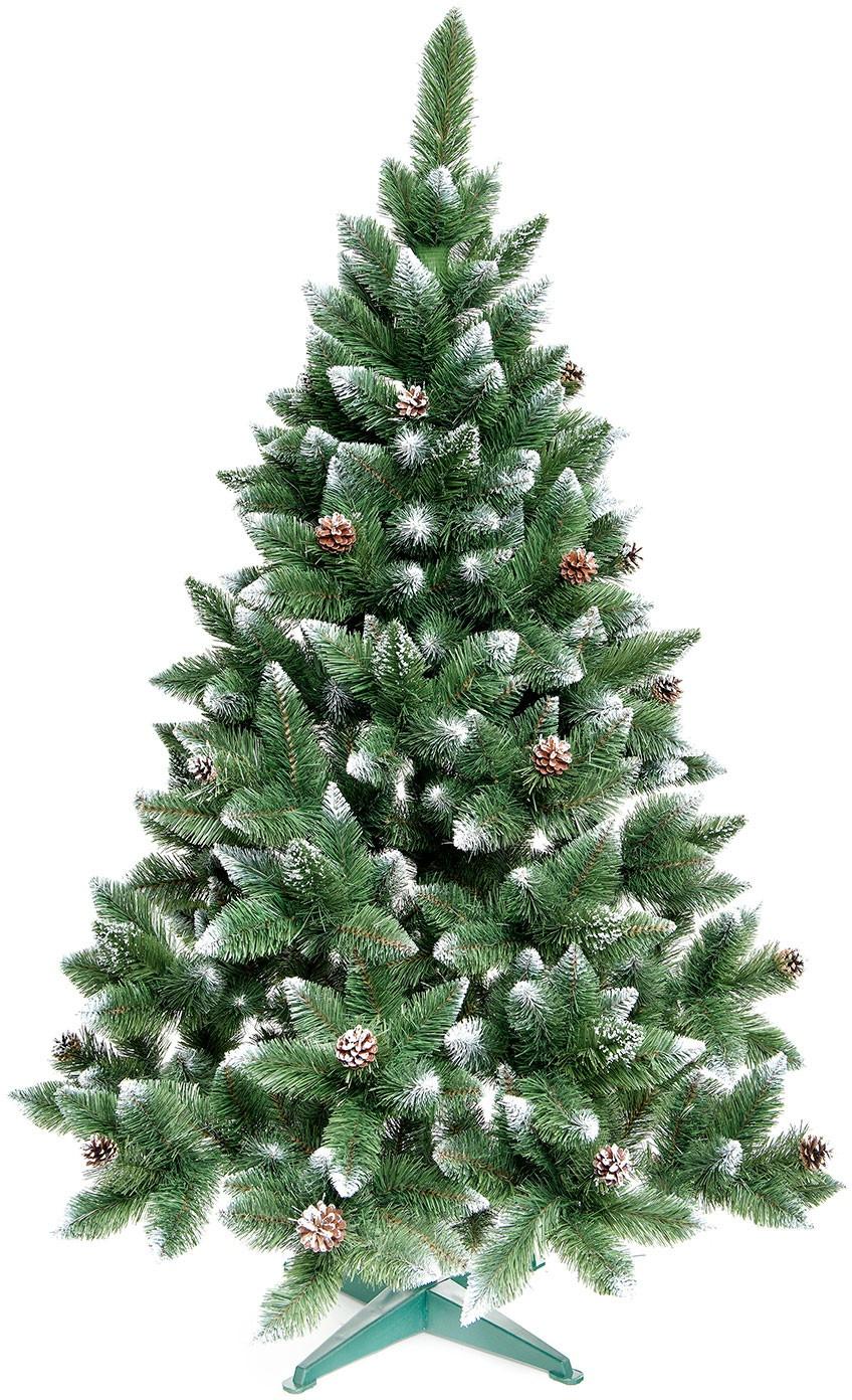 Aga Vánoční stromeček 180 cm s šiškami