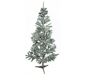 Aga Vianočný stromček bielo - zelený 180 cm