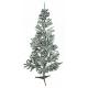 Aga karácsonyfa fehéres - zöld 180 cm