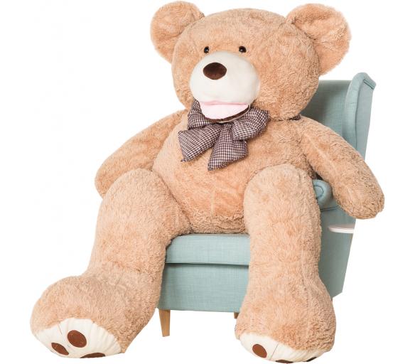 Aga4Kids Plyšový medvěd 190 cm Amigo Beige