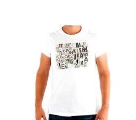 CALVIN KLEIN Tričko cmp57p 001 Blanc