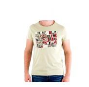 CALVIN KLEIN cmp57p 8b1 Marron Clear férfi póló