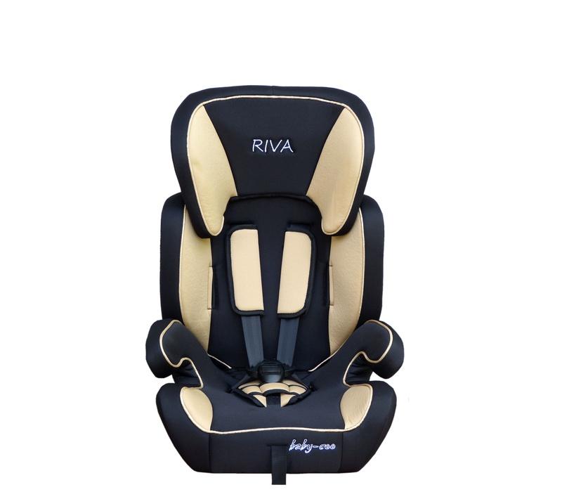 Baby Coo autosedačka RIVA 2018 Black Beige