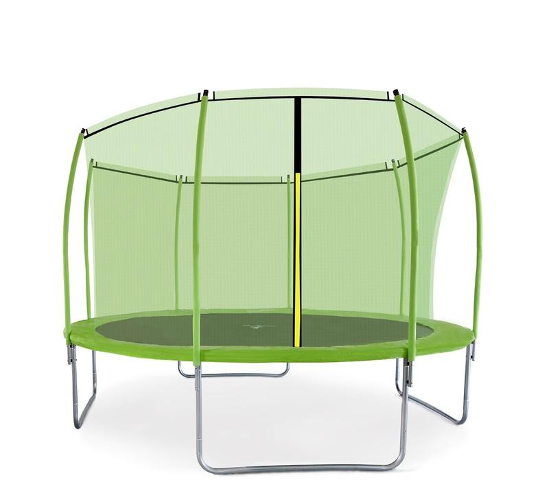 Aga SPORT FIT Trampolína 366 cm Light Green + vnútorná ochranná sieť