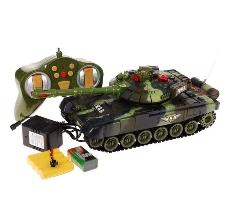 Aga RC Tank WAR Green 1:36