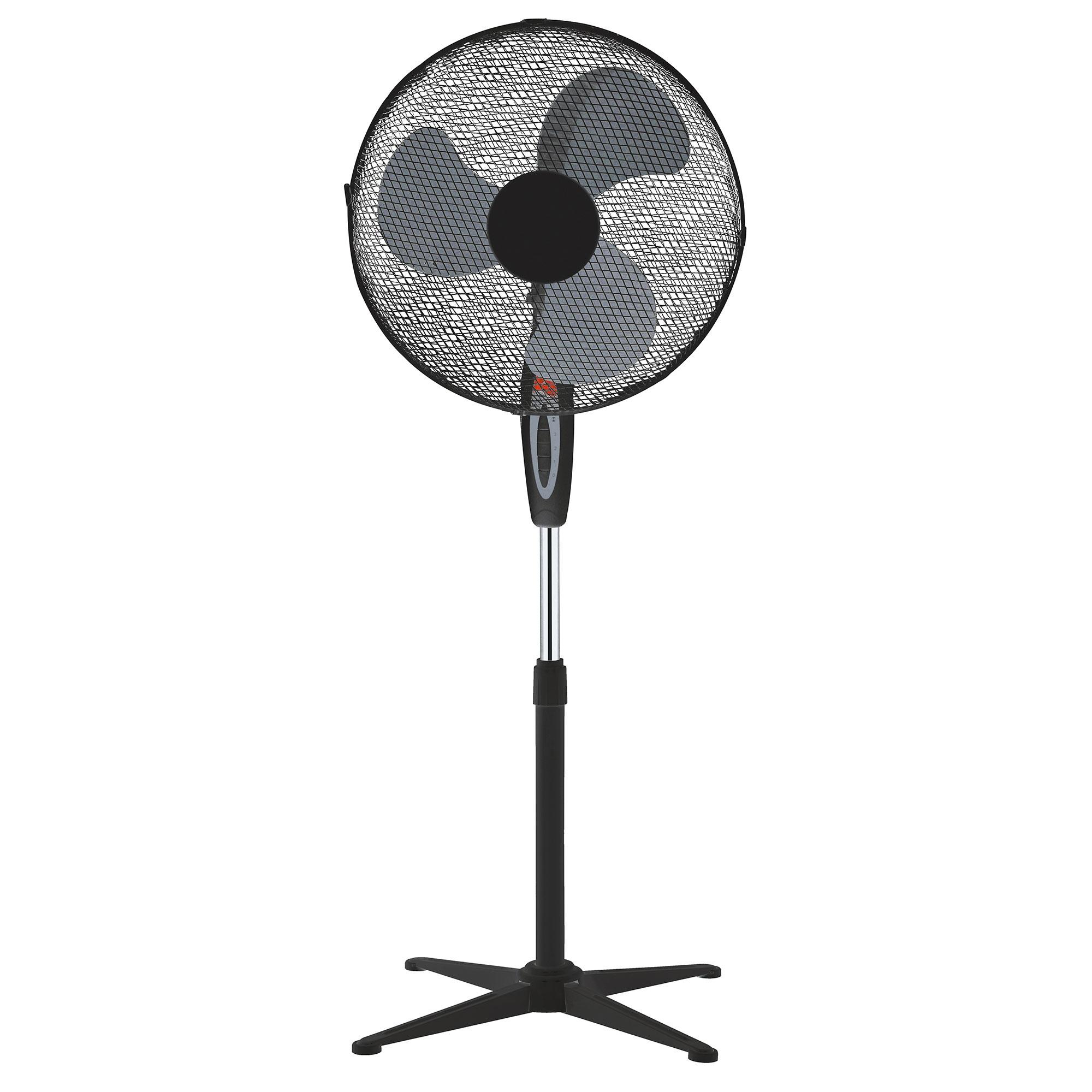 LEX Domácí ventilátor STANDVENTILATOR Black