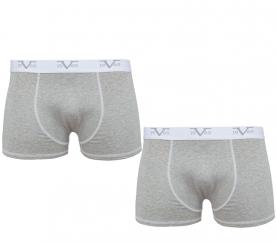 Versace 19.69 Boxerky 2-Pack Grey (C14)