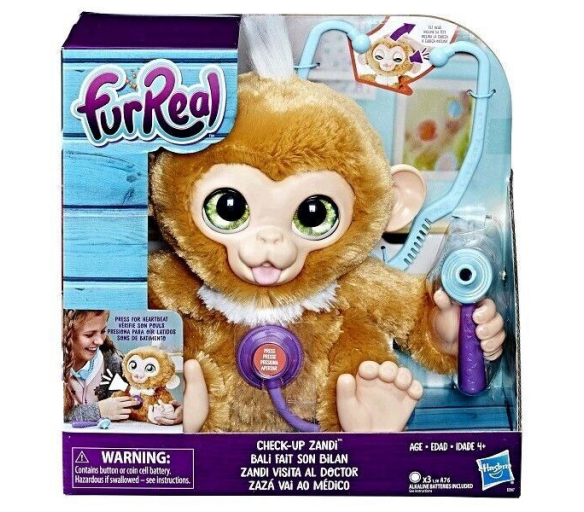 Fur Real Friends Opička Zandi