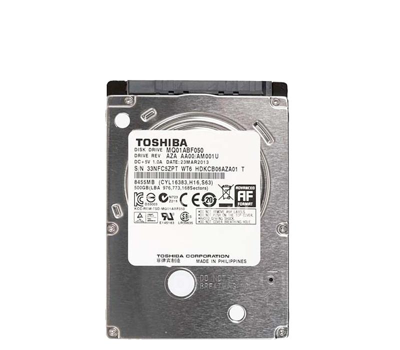 Toshiba Pevný disk MQ01AABF050 500GB 6Gb/s