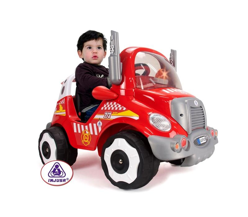 Injusa Elektrické autíčko FIREFIGHTER TRUCK 6V