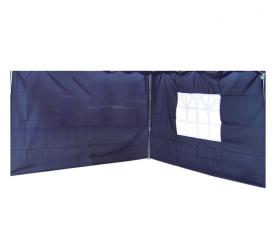 Linder Exclusiv Ściana boczna do altany ALU 3x3 m PO2410 Blue