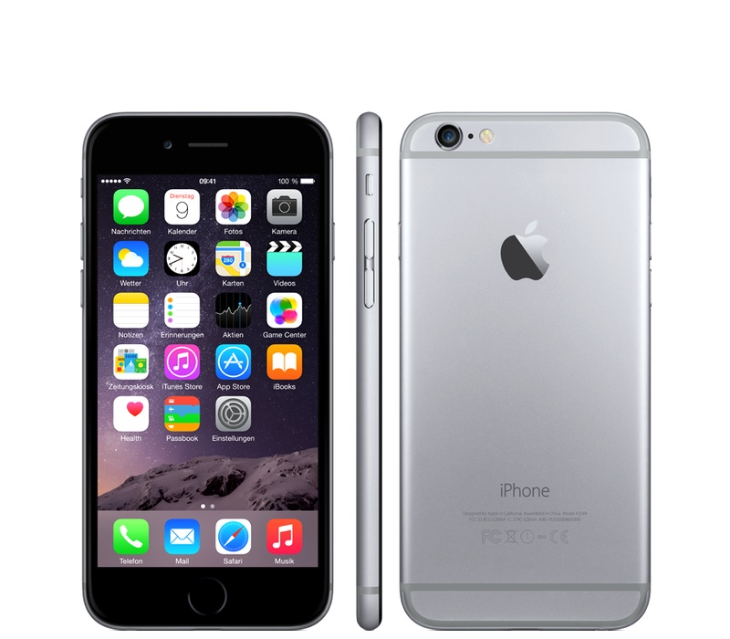 Apple iPhone 6 64GB Grey Kategorie: B