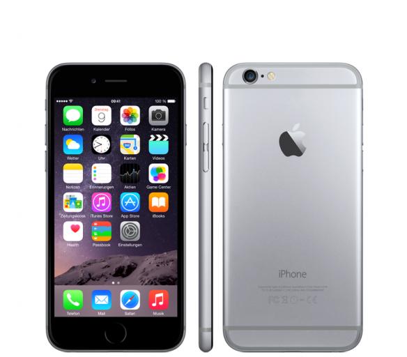 Apple iPhone 6 64GB Grey Kategorie: B