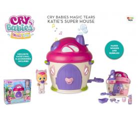 Panenka Cry babies magické slzy domek Katie