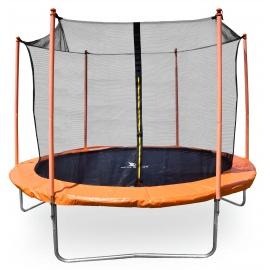 Aga SPORT FIT Trampolína 250 cm Orange + vnitřní ochranná síť
