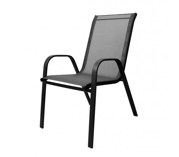 Aga Krzesło ogrodowe ALU STAPEL MR4400GY Grey