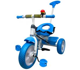R-Sport Dětská tříkolka T5 s vodící tyčí Modrá