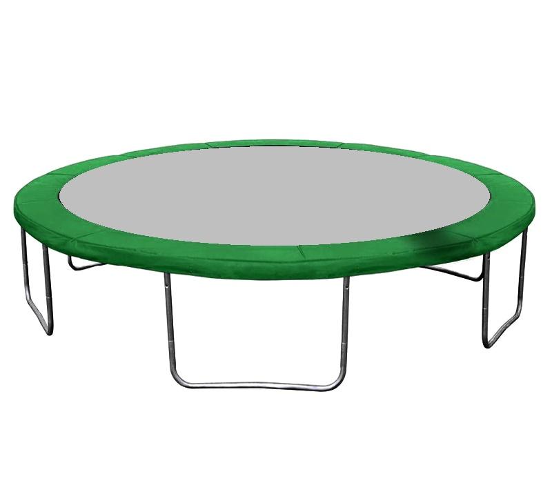 AGA 518 cm (17 ft) trambulin rugótakaró Green
