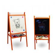 Aga4Kids Dětská tabule TEDDY MOP 4v1