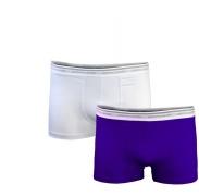 PIERRE CARDIN 2-PACK PCU95 Dark Iris White boxeralsó