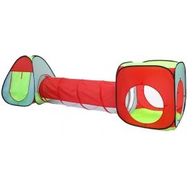 Aga4Kids Dětský hrací stan se spojovacím tunelem MR0031