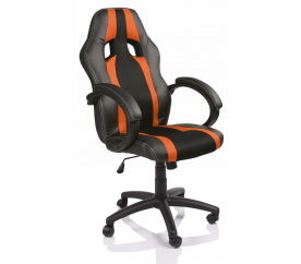 Tresko Kancelářské křeslo Racing RS019 Black - Orange