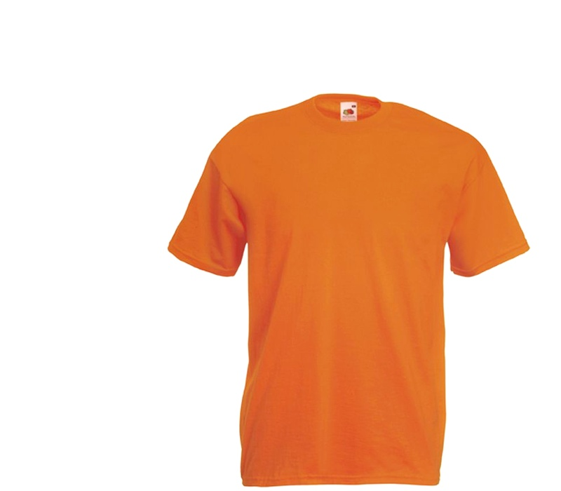 Fruit Of The Loom Tričko VALUEWEIGHT T Orange