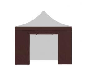 Aga Bočnice s dveřmi POP UP 3x3 m Brown