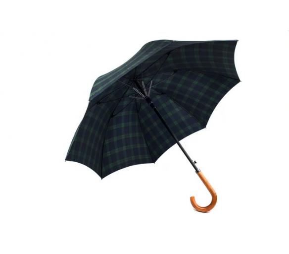 Deštník Pierre Cardin velký hnědomodrý