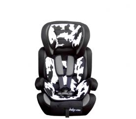 Baby Coo autosedačka BRAVO Black White