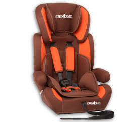 Aga4Kids Autosedačka Brown - Orange