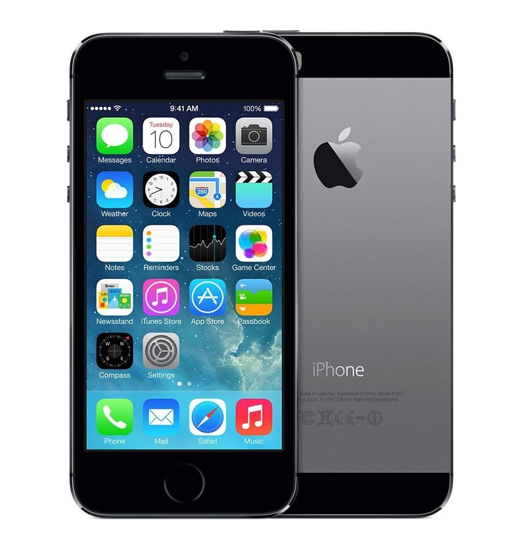 apple iphone 5s 64gb grey kategorie b aga24. Black Bedroom Furniture Sets. Home Design Ideas
