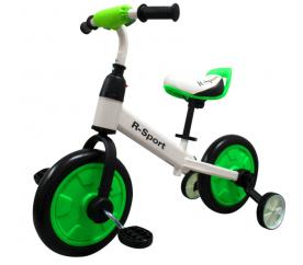 R-Sport Odrážadlo 3v1 P1 White-Green