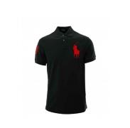 Ralph Lauren gyerek Polo trikó Black Big Pony Red